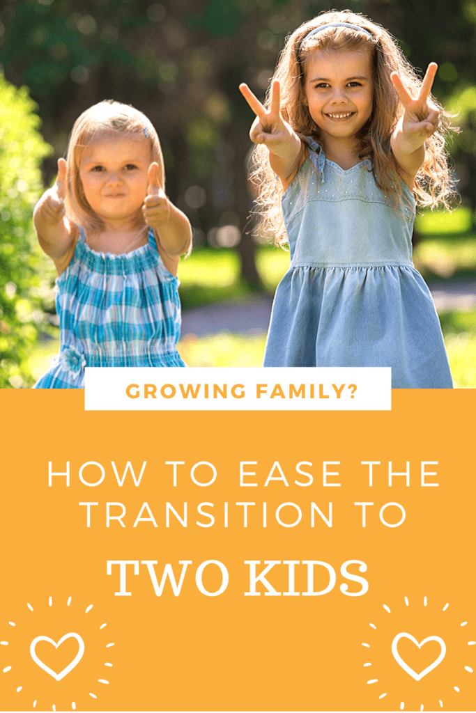 how to ease the transition to two kids