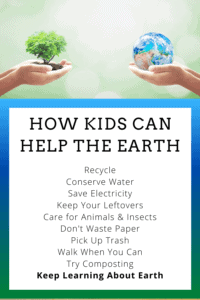How kids can help the earth 2