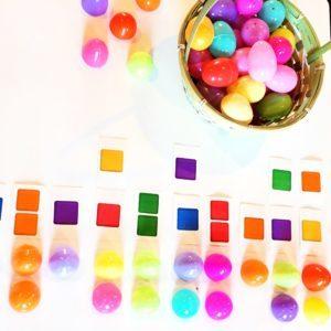 plastic easter egg games