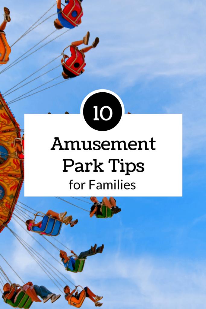 amusement park tips for families