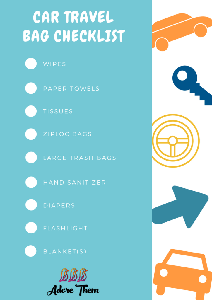 car travel bag checklist