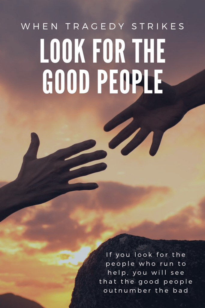 look for the good people