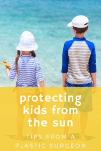 protecting kids from the sun