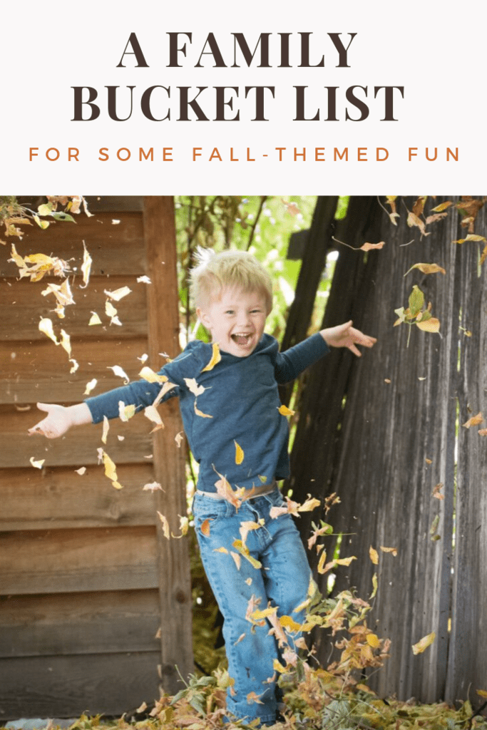 50 fall themed activities for families