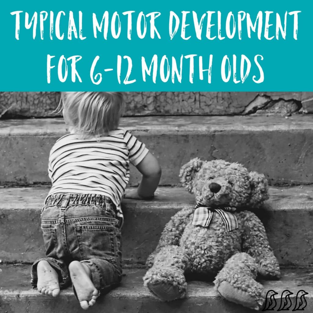 Typical Motor Skills & Development for 6-12 Month Olds