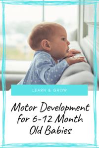 Motor Development for babies