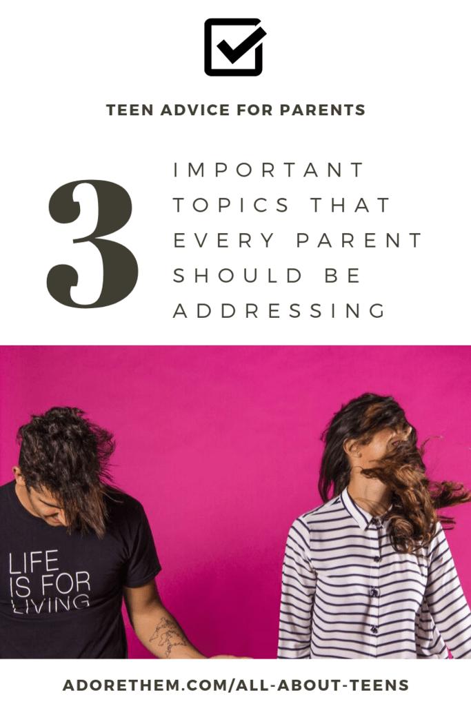 teen advice for parents