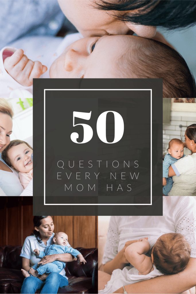 baby questions that new moms have