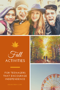 fall activities for teenagers