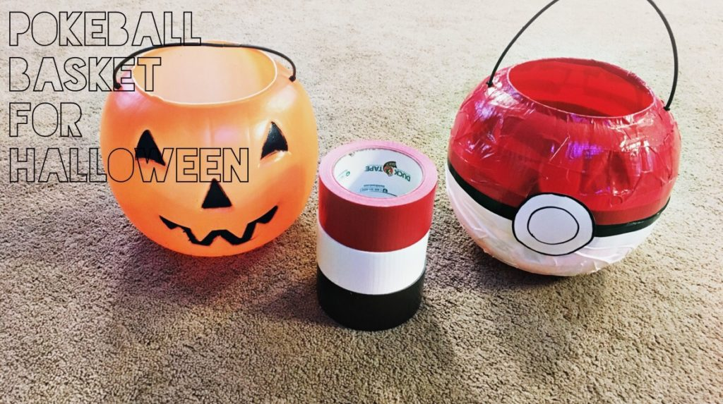 trick or treat bucket diy
