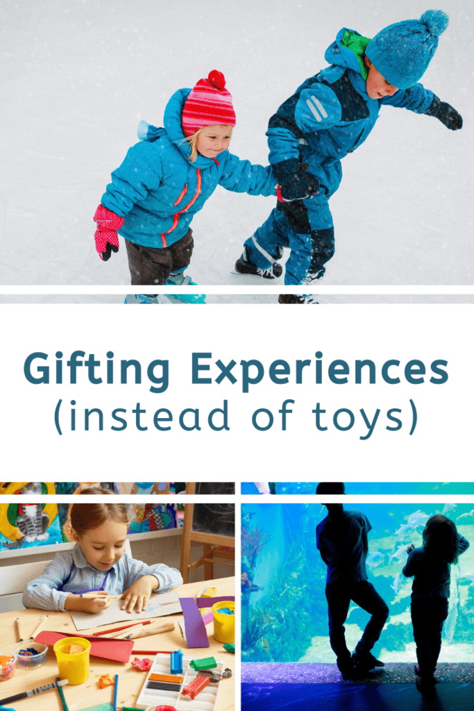 gifting experiences instead of toys