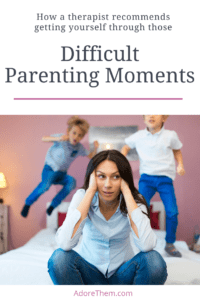 difficult parenting moments