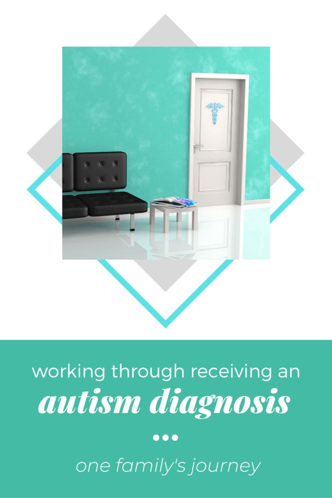 receiving an autism diagnosis