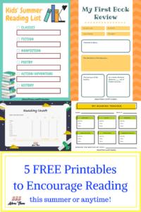 5 FREE Printablesto Encourage Reading