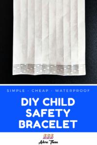 DIY Child Safety Bracelet