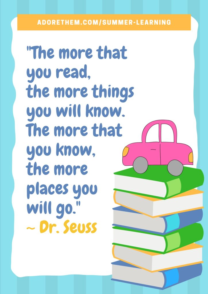 photo about Free Printable Dr Seuss Quotes identify Dr. Seuss - Reading through Estimate Poster - Enjoy Them