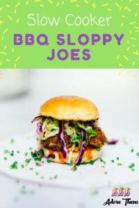 BBQ Sloppy Joes