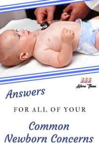 common baby concerns