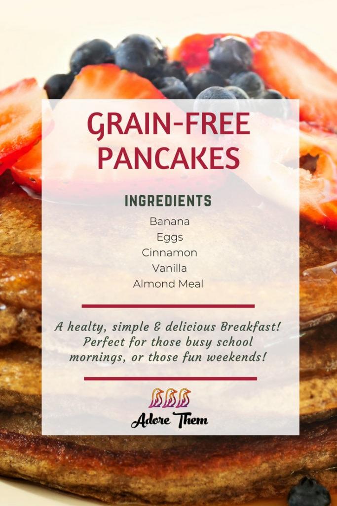 grain free pancakes