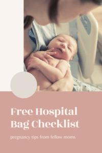 free hospital bag checklist