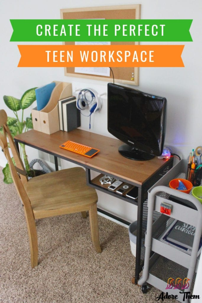 how to create the perfect teen workspace
