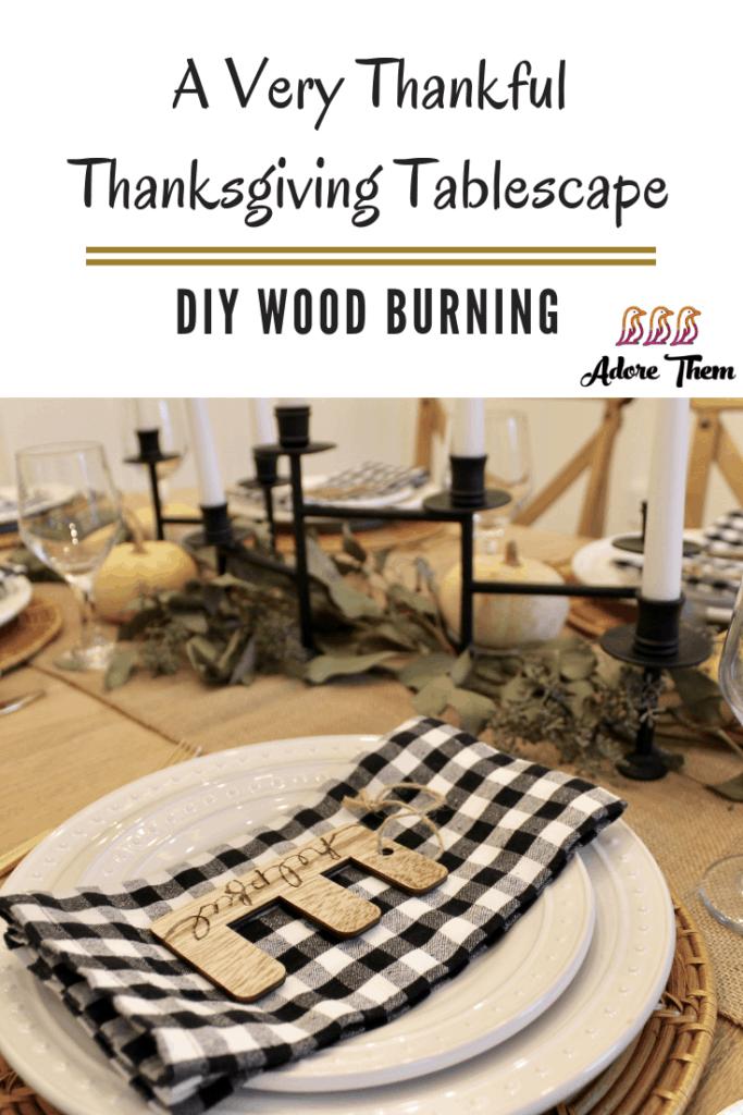 DIY Wood Burning
