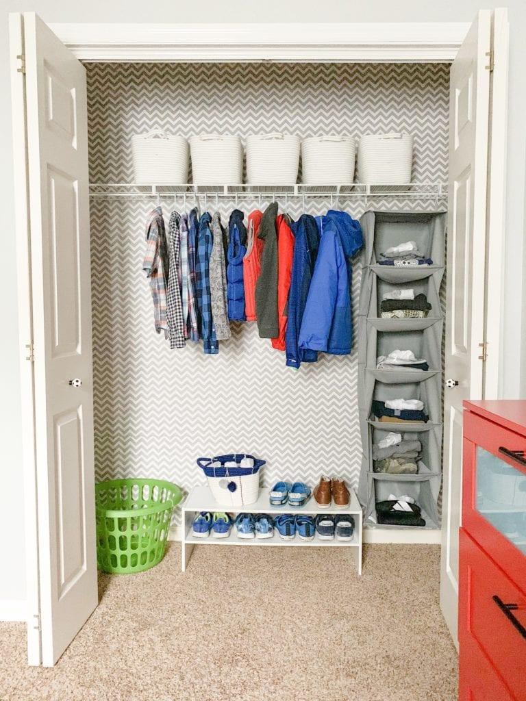 Closet DIY Reveal