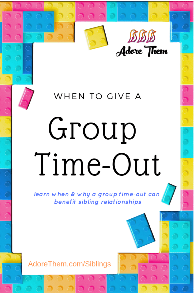 when to give a group time out