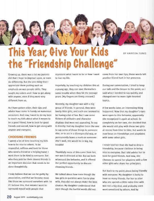 Austin Family Magazine 2