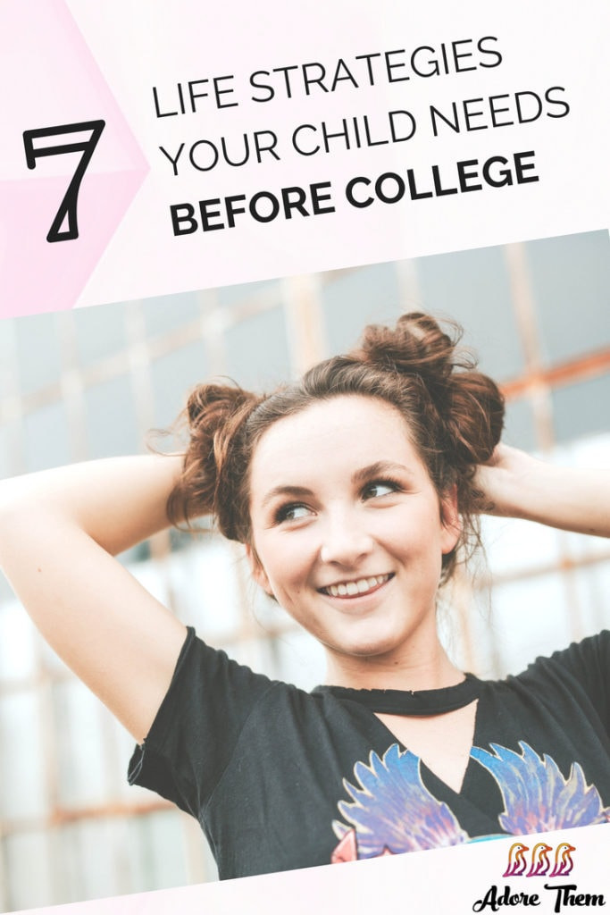 back to school - life strategies before college