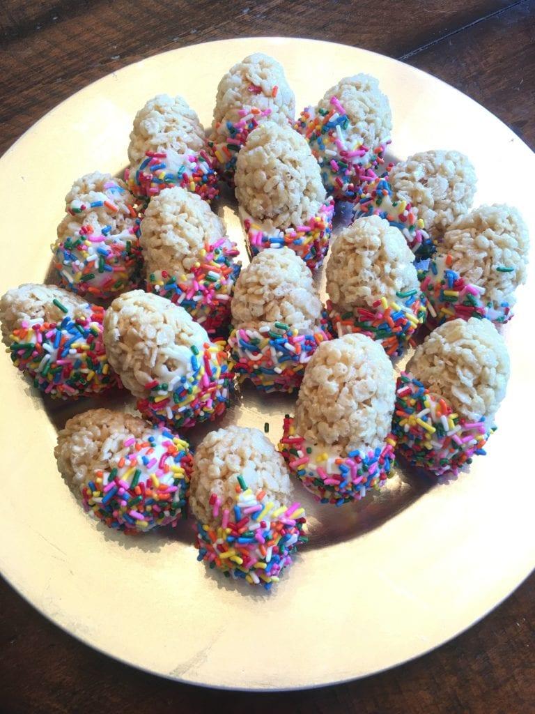 Easter Egg Snack for Kids