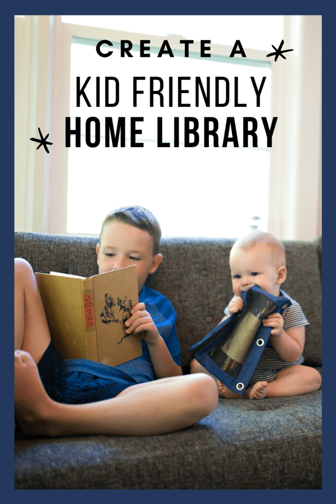 Kid Friendly Home Library