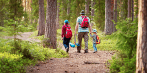 camping with kids activities