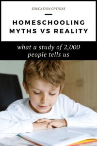 homeschooling myths