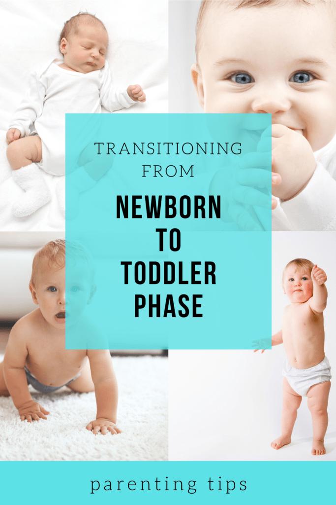 newborn to toddler phase