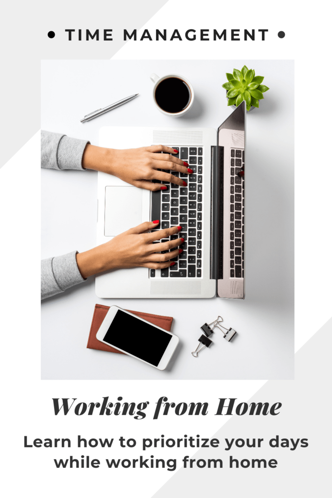 working from home time management