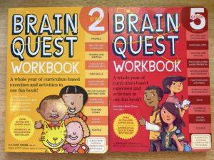 picture of brain quest workbooks