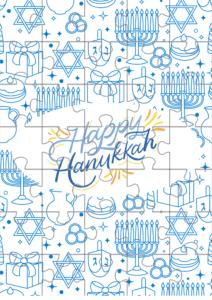 printable hanukkah puzzle