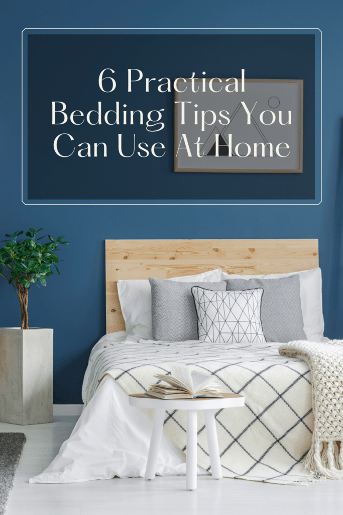 bedding tips graphic