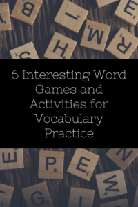 word games graphic