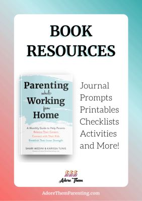 Book Resources for Parenting while Working from Home